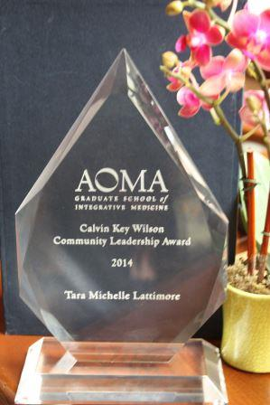 community leadership award
