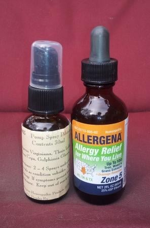 allergy homeopathic