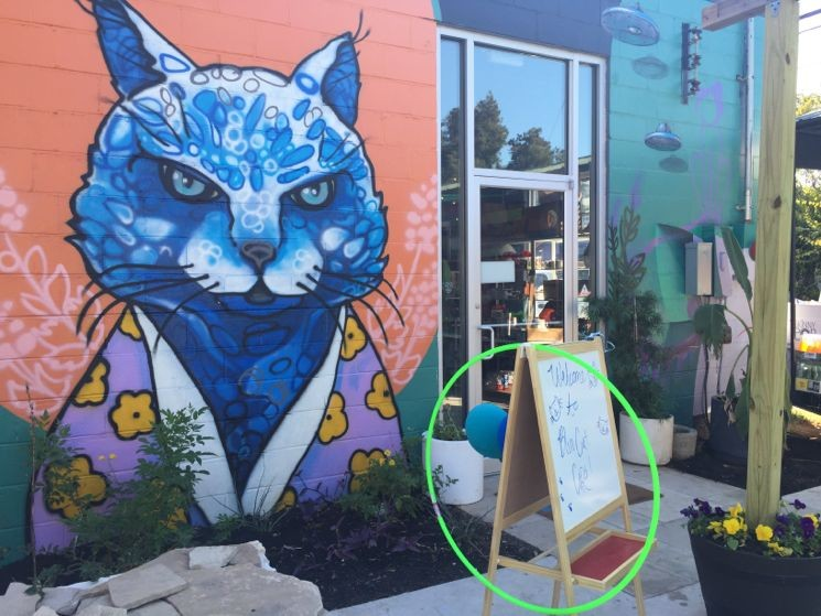 Blue Cat Cafe Austin TX