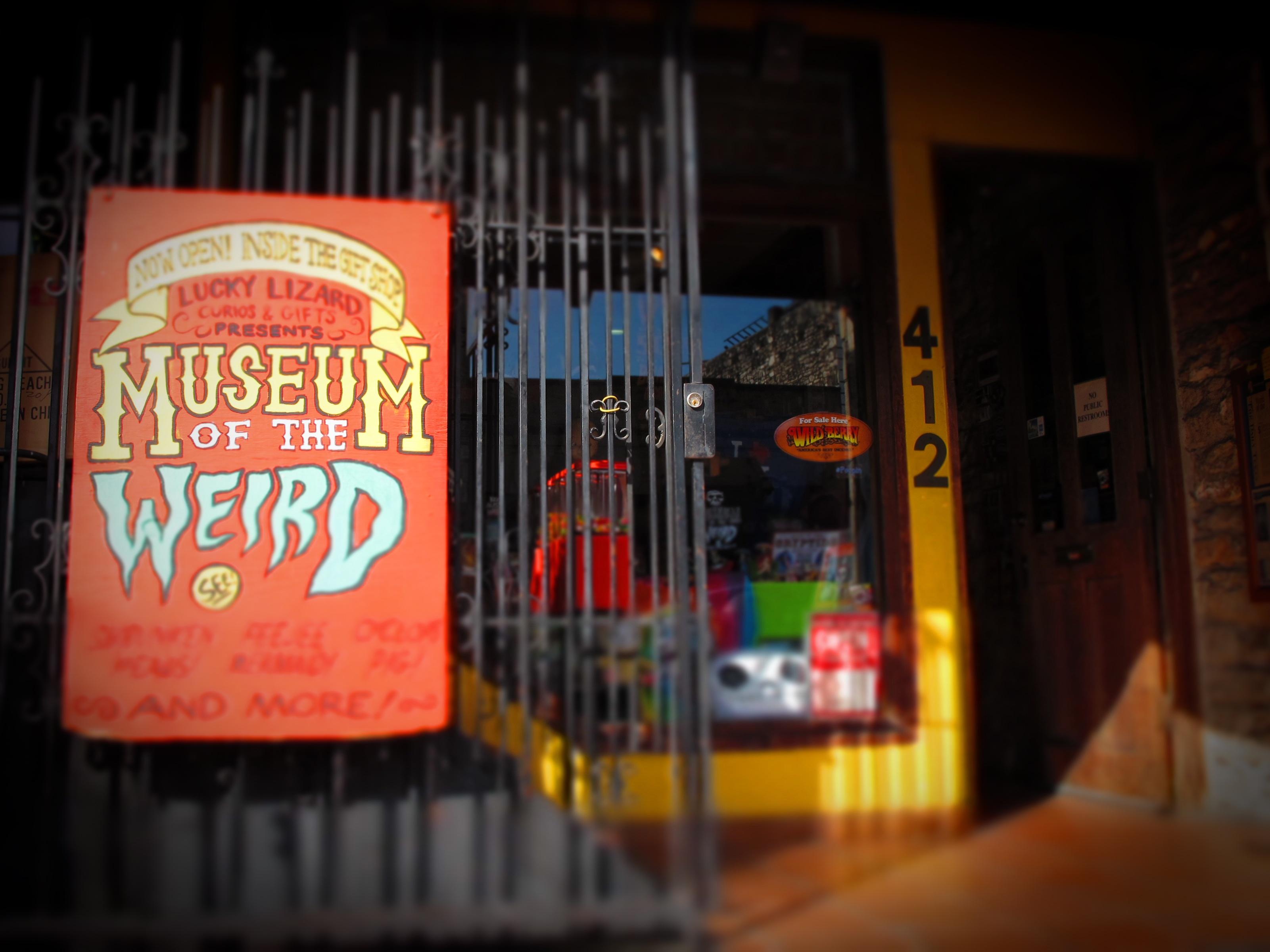Austin TX Museum of the Weird