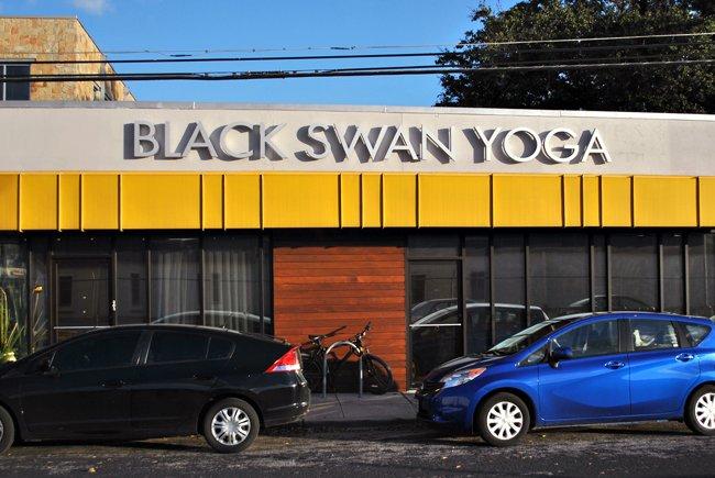 Black Swan Yoga Daily Texan
