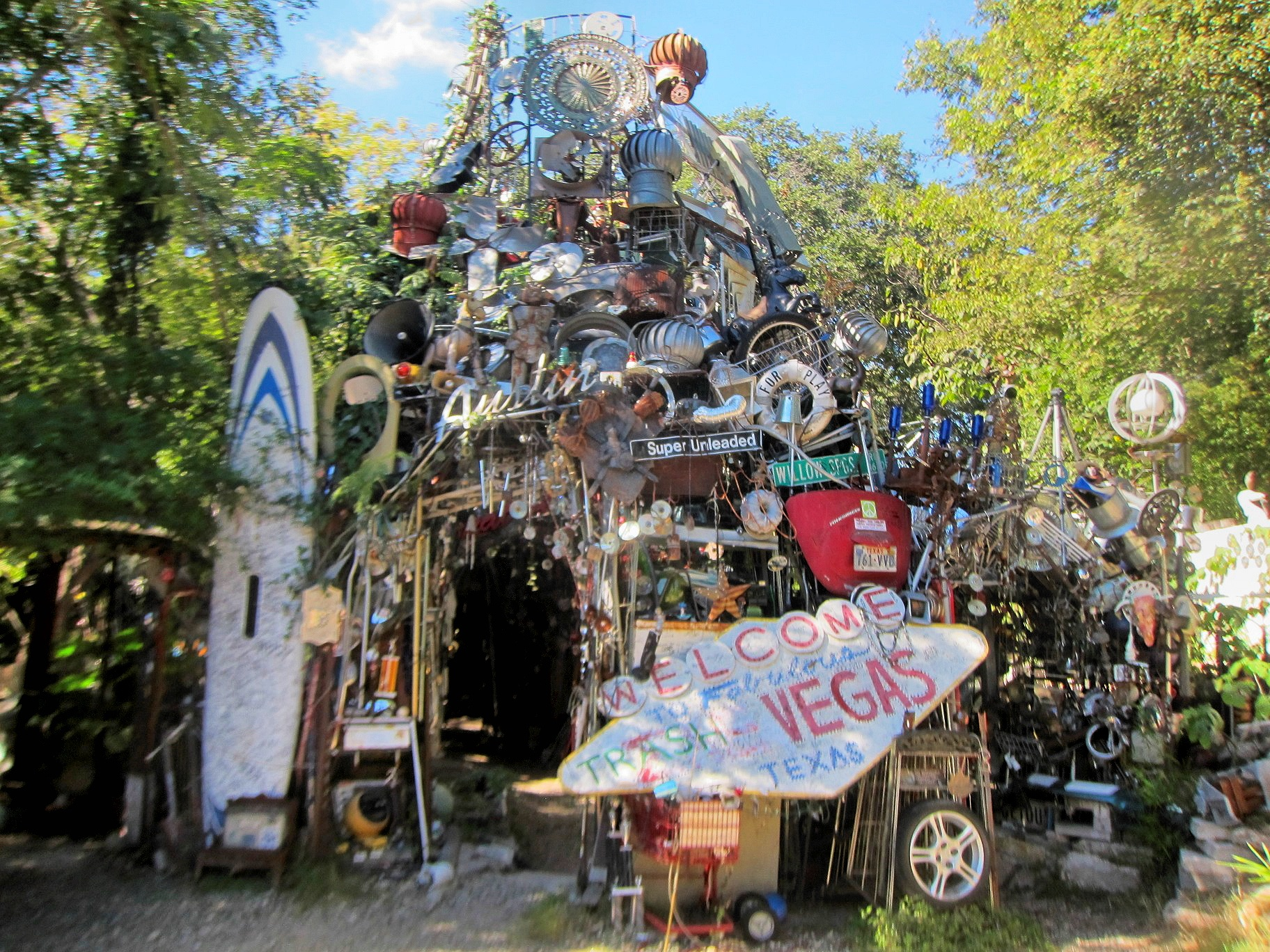 Cathedral of Junk Austin TX