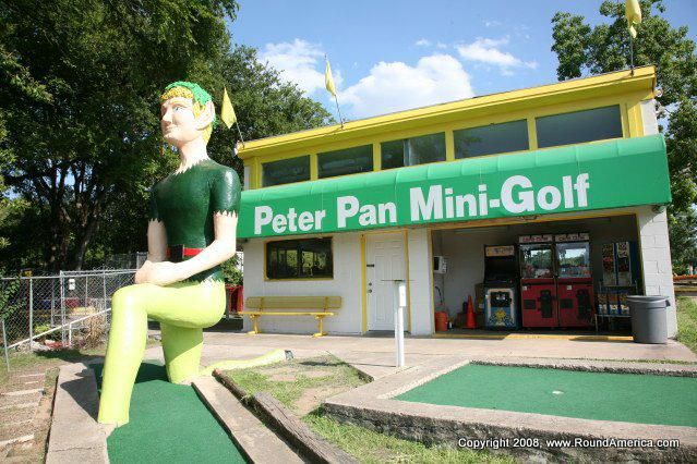 Peter Pan Mini-Golf Austin TX