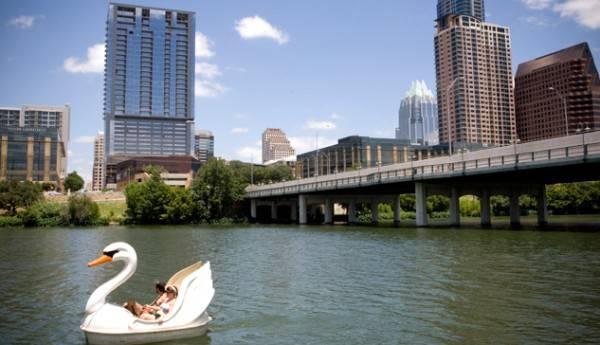 swanboat Austin TX