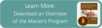 Learn More: Download an Overview of the Master's Program